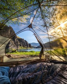 I am not an outdoorsy kind, but I think this see thru tent is incredible!