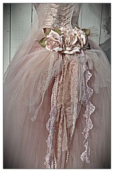 Pink tulle, flowers...beautiful ballet costume