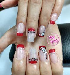 Manicure Nail Designs, Nail Manicure, Nail Art Designs, Tattoo Drawings, Tattoos, French Tip Nails, Baby Shower Favors, Nail Colors, Nailart