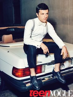Josh Hutcherson in our April 2012 issue of Teen Vogue