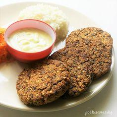 Burger de tofu iodé #vegan #vegetarian #veganrecipes #healthy