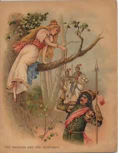 Grimm Brothers Tales, Vintage Book Art, East Of The Sun, Sitting In A Tree, Princess And The Pea, Fairytale Fantasies, Vintage Fairies, Conte, Folklore