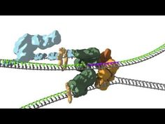 In this animation, we consider how bacteria achieve the feat of coupling of DNA replication at the replication fork as the lagging and leading strand and syn. Dna Replication, Science Education, Fork, Animation, Couples, Youtube, Animation Movies, Romantic Couples, Anime