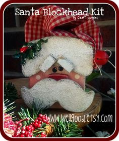 Craft Goodies: Block Heads