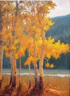Fall Aspen Color - Landscape Oil Painting