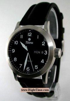 Fx Automatic Date-Day 630-11 - Tutima Pilot Fx wrist watch