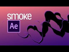This is a simple way to achieve a smoke effect using after Effects. There are no additional plug-ins and it can be created in minutes. Have fun with the sett. Smoke Animation, Text Animation, Adobe After Effects Tutorials, Blender Tutorial, After Effect Tutorial, Motion Video, Animated Cartoons, Cinema 4d, Motion Design