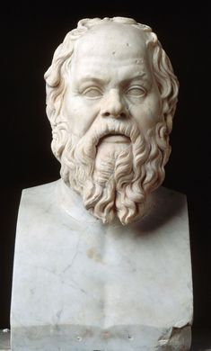 I chose this image of Socrates because he was one of the great philosophers during the Classical Period of Ancient Greece. Greek History, Ancient History, Art History, Roman History, Rome Antique, Art Antique, Sculpture Romaine, Socratic Method, Western Philosophy