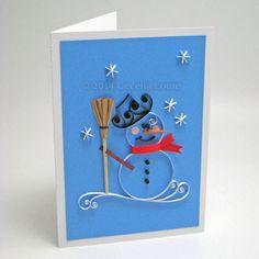 Paper Zen: Lark Book: Quilled Snowman