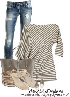 """Summer Date"" by amabiledesigns on Polyvore"