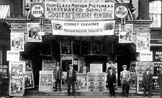 """The NewYorkologist: The """"Coolest Theater in New York"""" featuring """"Iced Air"""" on Third Ave, (just 5 cents) 1910 (NYTArchives)"""