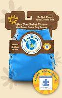 Autism Awareness cloth diaper