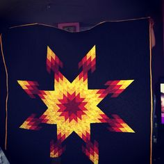 Fire colors Starquilt
