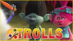 Trolls Movie 2016 - Kids Coloring Book | Coloring Pages for Children wit...