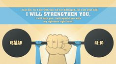 Isaiah 41:10 ....I Will Strengthen You... #Bible verse