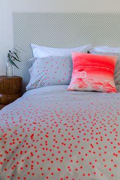 Image of 'Sprinkle Sprinkle' in Fluro Red