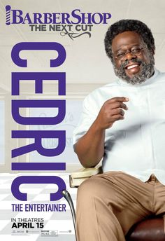 Barbershop The Next Cut Cedric The Entertainer Poster Latest Movies, New Movies, Sean Patrick Thomas, Michael Rainey, Troy Garity, Cedric The Entertainer, Regina Hall, New Movie Posters, Film Posters