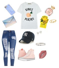 """""""Spring Vibes"""" by springmc on Polyvore featuring Être Cécile, Converse, Rebecca Minkoff, Casetify, '47 Brand, Tory Burch, Lime Crime, Charlotte Russe, AK Anne Klein and Cartier"""