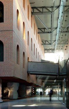 Since 1998 the Web Atlas of Contemporary Architecture Architecture Renovation, Brick Architecture, Philippe Starck, Villa, Adaptive Reuse, Street House, Basque Country, Arch Bridge, Beautiful Buildings