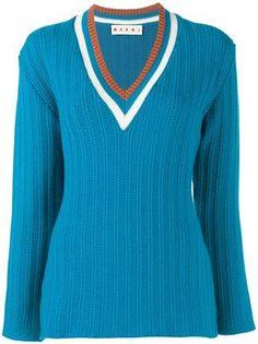 Marni Suéter com decote em V
