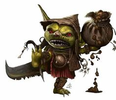 Character Art Season 2: Goblins. The perfect throwaway mook for low level adventures Goblins are a selfish and nasty race usually, caring not for anyone but the