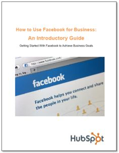 Facebook for Business Marketing Kit  to a world of conversations and relationships. Facebook is not an evil time-waster, a community just for college students, or something scary or irrelevant for marketers – even you B2B folks.  - epublicitypr.com