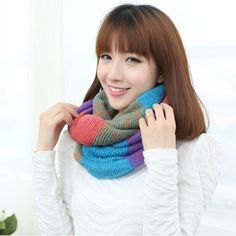2015 winter fashion exquisite Warm Plaid knitting wool scarf