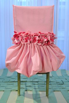 ballet chair cover | Fashion in Design: Tutu Chair Cover| fashion, design, chair cover ...