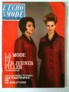 L'echo de la mode n° 12 année 1963