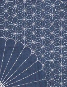 Color Azul Indigo - Indigo Blue!!! sashiko