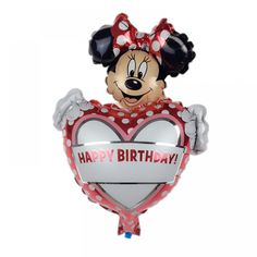 New Mini Minnie Aluminum Toy Party Birthday Balloons for Children Price: & Flat Rate Shipping Mickey Minnie Mouse, Minnie Maus Ballons, Balloon Cartoon, Mini, Helium Balloons, Foil Balloons, Cute Mouse, Classic Toys, Birthday Balloons