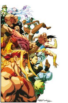street-fighter-3-art-comics-forever-street-fighter-iii-third-strike-artwork-joe.jpg (682×1024)