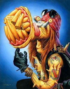 axl rose monster by Jason Edmiston The Rock, Rock And Roll, Jason Edmiston, Axl Rose, Monster Art, Psychedelic Art, Horror Art, Limited Edition Prints, Rock Art