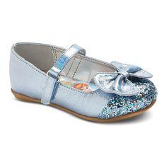 Disney Toddler Girls' Frozen Glitter Ballet Flats -