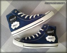 Fault in Our Stars Converse www.etsy.com/...