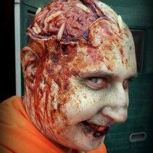This is cheese pizza hot~fabulous movie makeup
