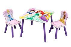 Table et 2 chaises Princesses Disney
