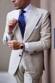 Melbourne Races, Italian Style Suit, Beige Suits, Wedding Suits, Wedding Men, Wedding Attire, Suit And Tie, Horse Racing, Mens Suits