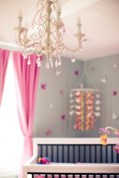 Baby girl bedroom for one day