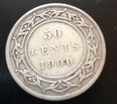 Silver! Circulated 4 Available! 1908 Newfoundland 50 Cent 1 Coin Only