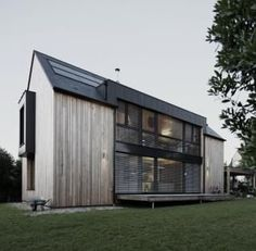 Passive house in France. Karawitz