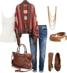 Style for over 35 ~ casual and cozy Thanksgiving outfit