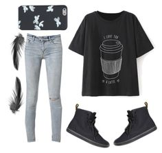 """""""#62"""" by emma-danewa ❤ liked on Polyvore featuring American Eagle Outfitters, Marc by Marc Jacobs and AllSaints"""