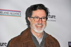 wtf colbert with a beard?