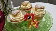 My little pony Fluttershy och semlecupcakes
