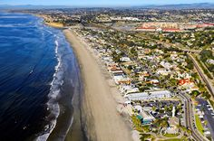 Aerial View of Del Mar, California #DMTC #coolasever
