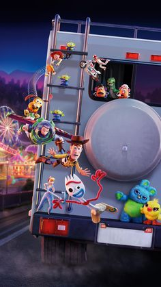 Watch Toy Story 4 : Full Length Movies Woody Has Always Been Confident About His Place In The World And That His Priority Is Taking Care Of. Disney Phone Wallpaper, Cartoon Wallpaper, Iphone Wallpaper, Walt Disney Pictures, Movie Wallpapers, Cute Wallpapers, Disney Toys, Disney Pixar, Lorie