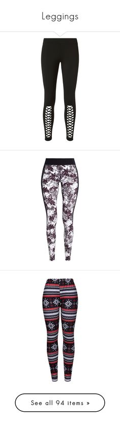 """Leggings"" by vampirekitty34 ❤ liked on Polyvore featuring pants, leggings, topshop, black, ankle length pants, logo pants, ankle length leggings, topshop trousers, topshop leggings and elastic waistband pants"