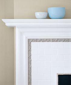Fireplace Ceramic Tile Surround