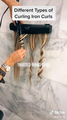 Curly Hair Tips, Easy Hairstyles For Long Hair, Curled Hairstyles, Wand Hairstyles, Curling Iron Hairstyles, Hair Curling Tutorial, Hair Curling Tips, Hair Up Styles, Medium Hair Styles